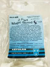 Lot 766: Kryolan Theatrical Makeup Magic Blood