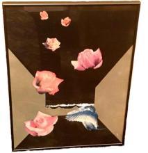 Lot 782: Eugenio P. Benini Mixed Media Original Collage Framed