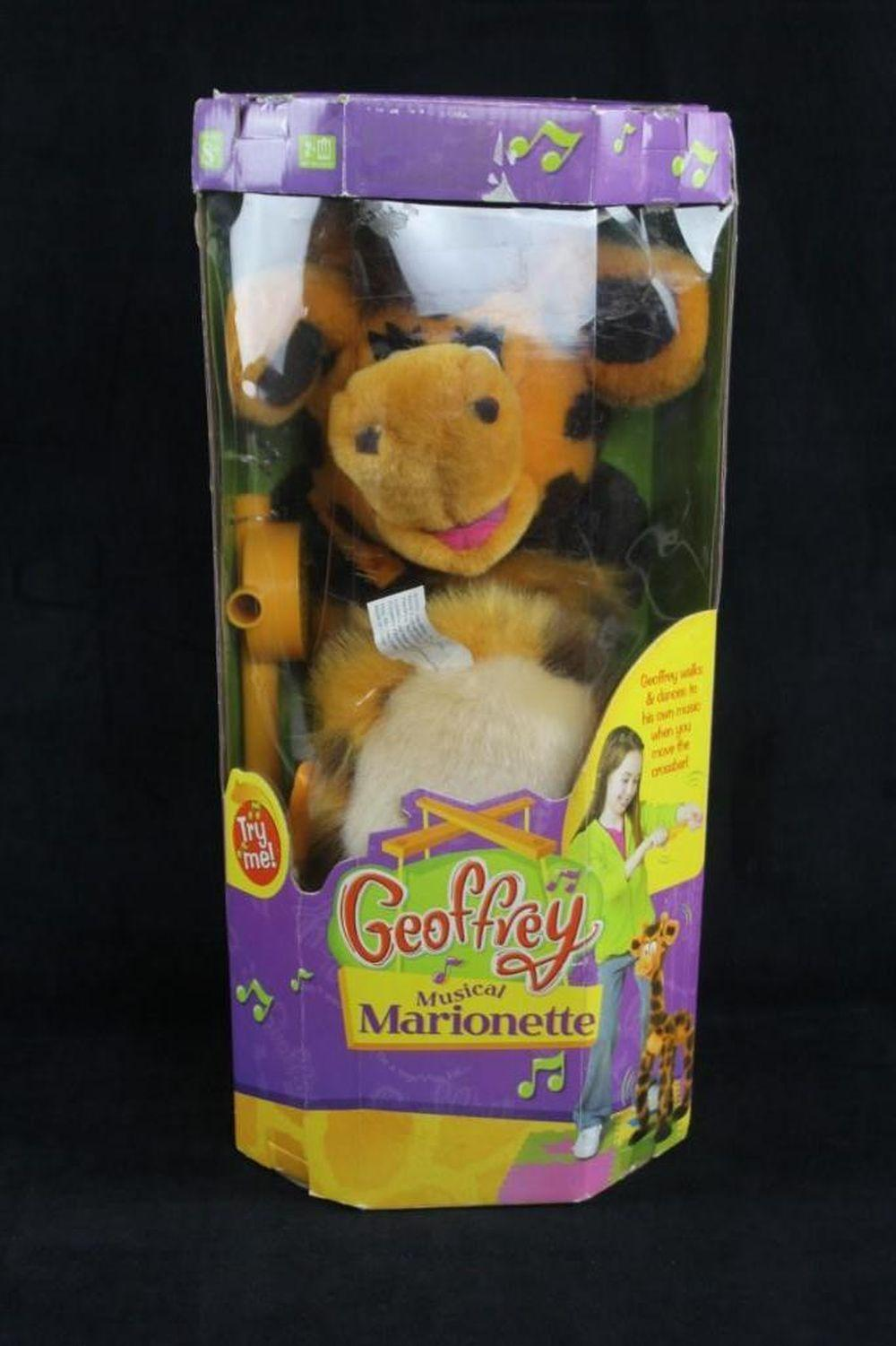 Lot 785: Geoffrey Musical Marionette Toy