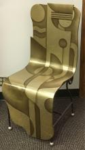 Lot 793: Lan Lee Design Custom His and Her's Chairs