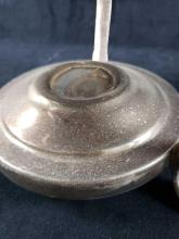 Lot 797: Silver Plated Footed Serving Dish with Lid