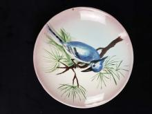 Lot 802: Set of 3 Hand Painted Vaisey Plates