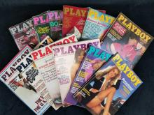 Lot 825: Playboy Magazines Complete Year 1980