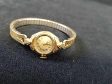 Lot 822: Vintage 1930s Bulova 10k Womens Watch