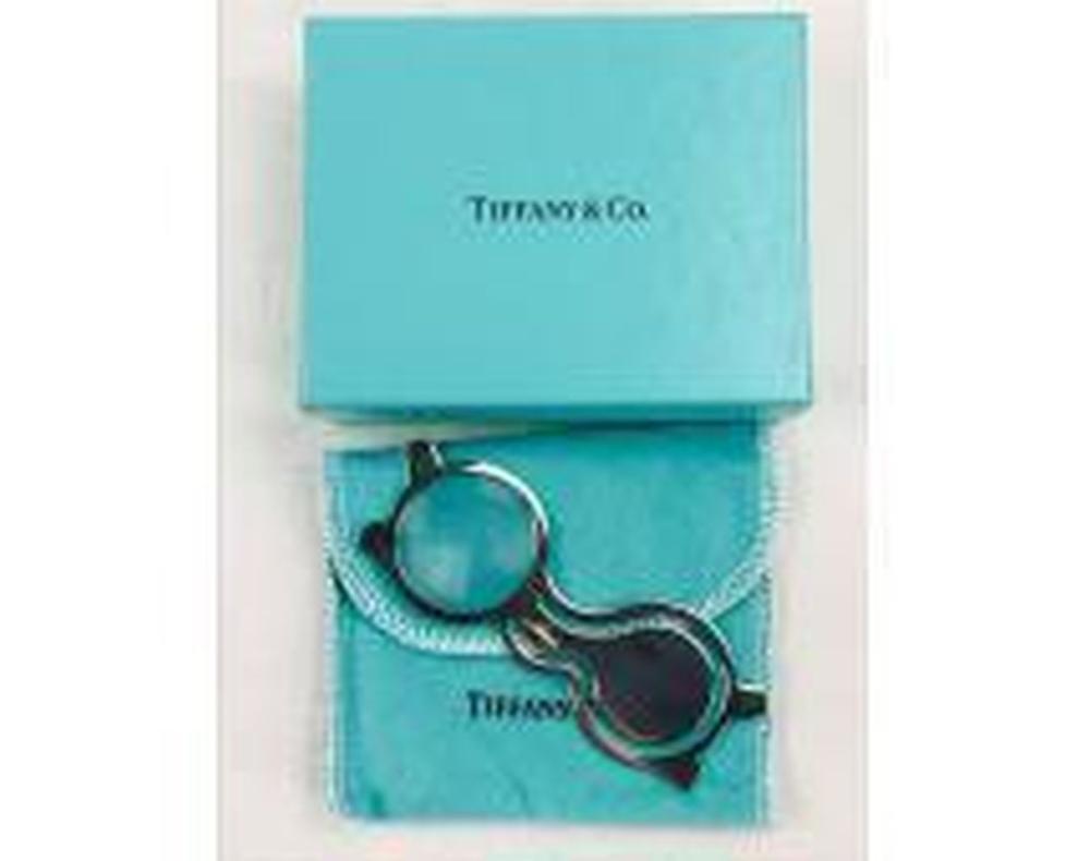 Lot 829: Vintage Tiffany & Co. Sterling Book Mark Magnifier