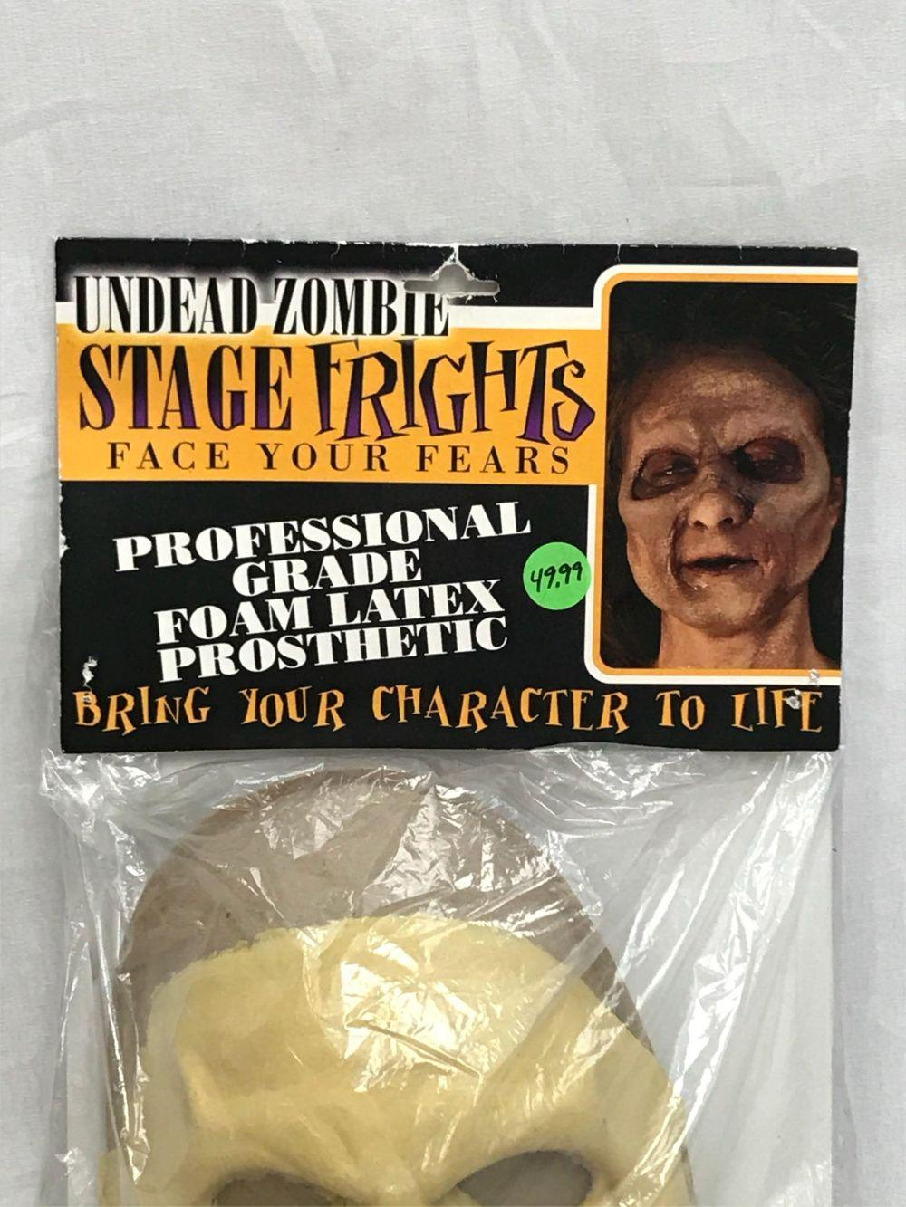 Lot 838: NOS Pro Grade Foam Latex Face Prosthetic Halloween Makeup