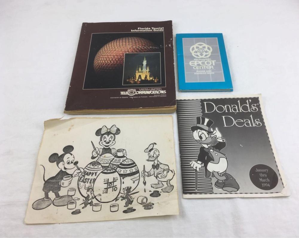 Lot 843: Vintage Disney World Employee Memorabilia