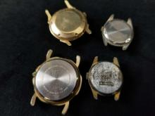 Lot 847: Lot of 4 Vintage Watches Without Bands