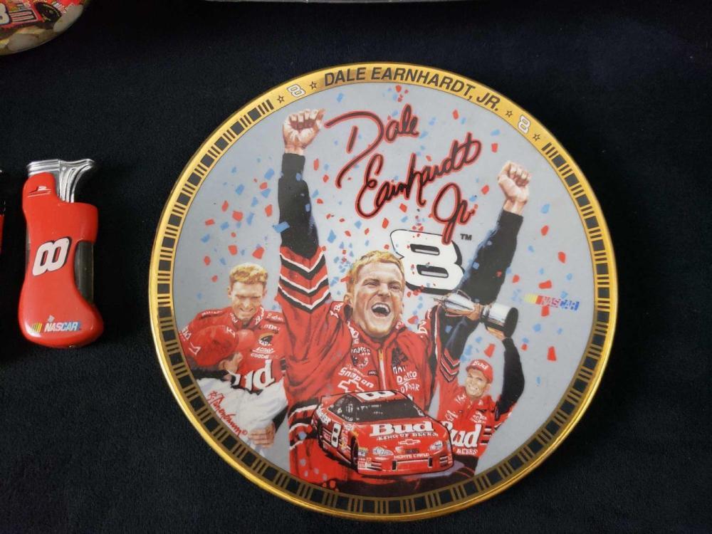 Lot 849: Lot of 7 Dale Earnhardt Jr Memorabilia Items