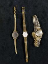 Lot 856: Lot of 11 Vintage And Unique Womens Watches