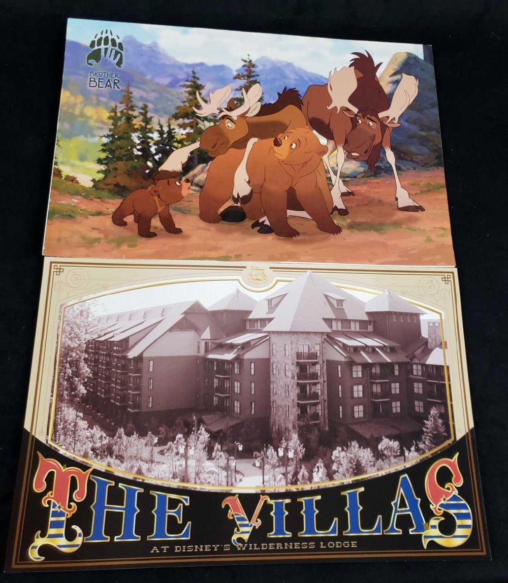 Lot 476: Disney Cast Paper Magazines The Villas and Brother Bear