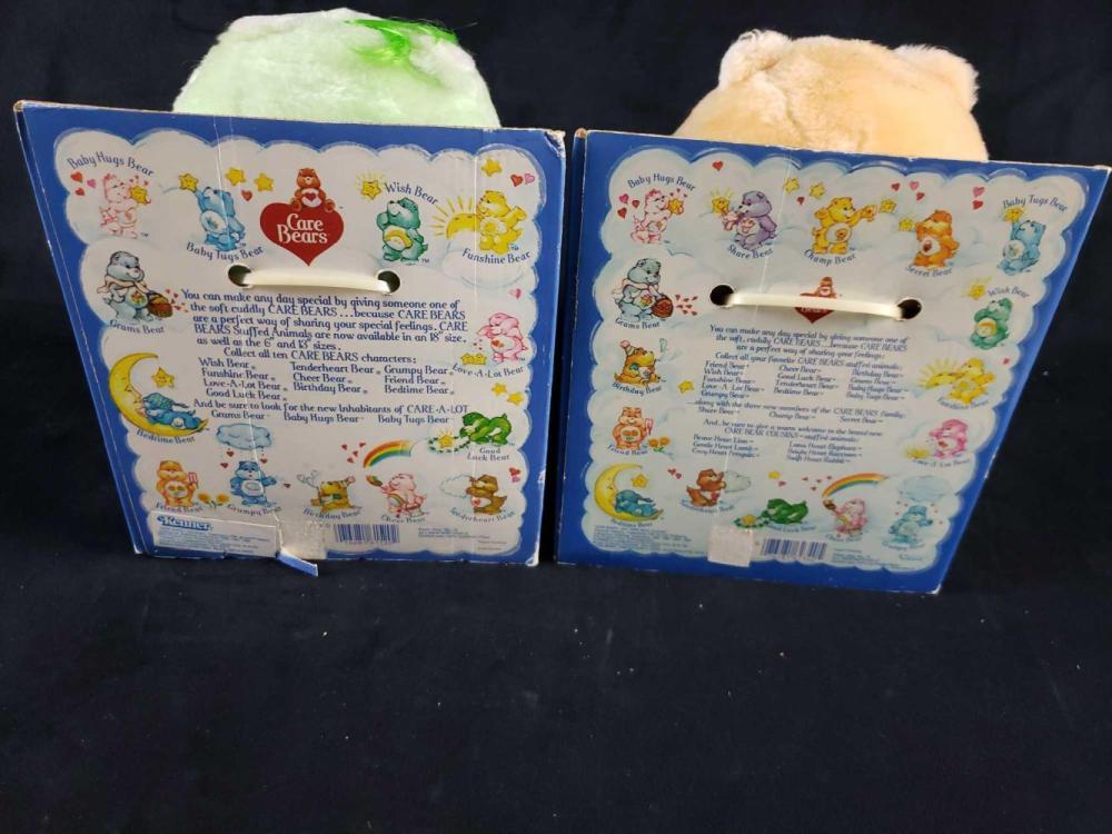 Lot 477: Care Bears Plush Plush Stuffed Animals
