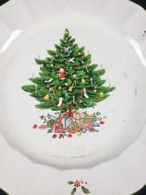Lot 480: Nova Studio Holiday Season Christmas Tree Plates