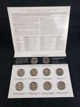 Lot 488: Lot of 4 America The Beautiful Quarters Uncirculated Coin Sets 2012 2013 2014 2015