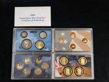Lot 491: 4 United States Mint Proof Sets B