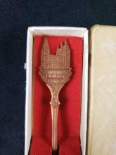 Lot 497: Salt Lake City Mormon Temple Souvenir Spoon