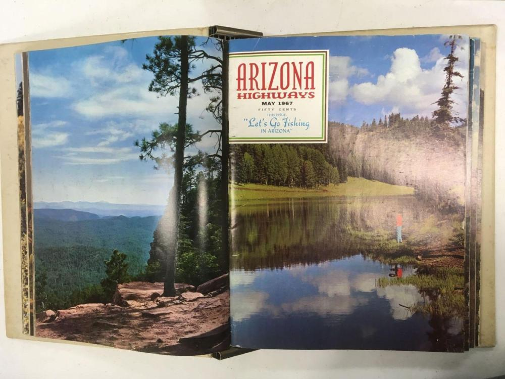 Lot 504: Set of 7 Arizona Highways Magazines