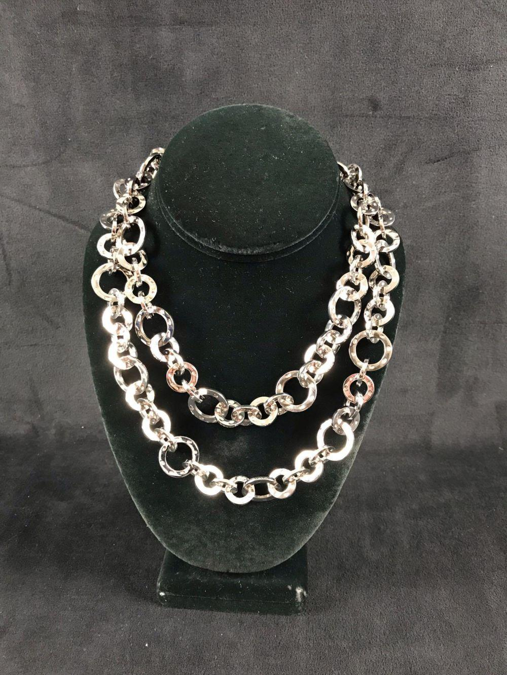 Lot 508: Stainless Steal Chain Necklace