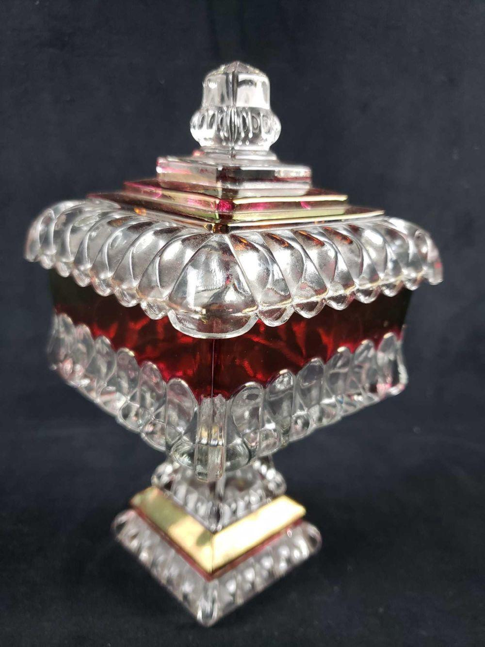 Lot 527: Footed Westmoreland Glass Company Compote