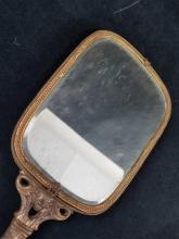 Lot 553: 3 Vintage Handheld Mirrors