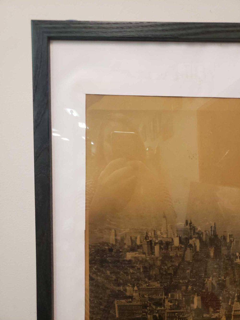 Lot 556: Early 20th Century Era Grand Central Zone to the Battery, New York Frame Photogravure