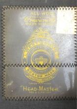 Lot 554: Vintage Wentworth Head Master Model Train Conductors Cap