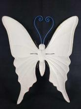 Lot 579: Metal Decorative Hanging Butterfly