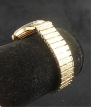 Lot 580: Vintage 14k Gold Movado Sub Sea Tempomatic Mens Watch