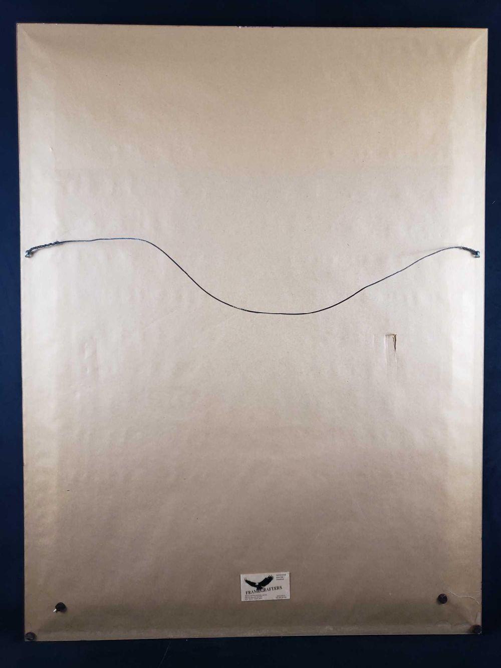 Lot 588: Salvador Dali Crucifixion Corpus Hypercubus Signed Framed Lithograph