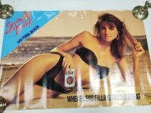Lot 608: Spring Break 90 Miller Lite Poster