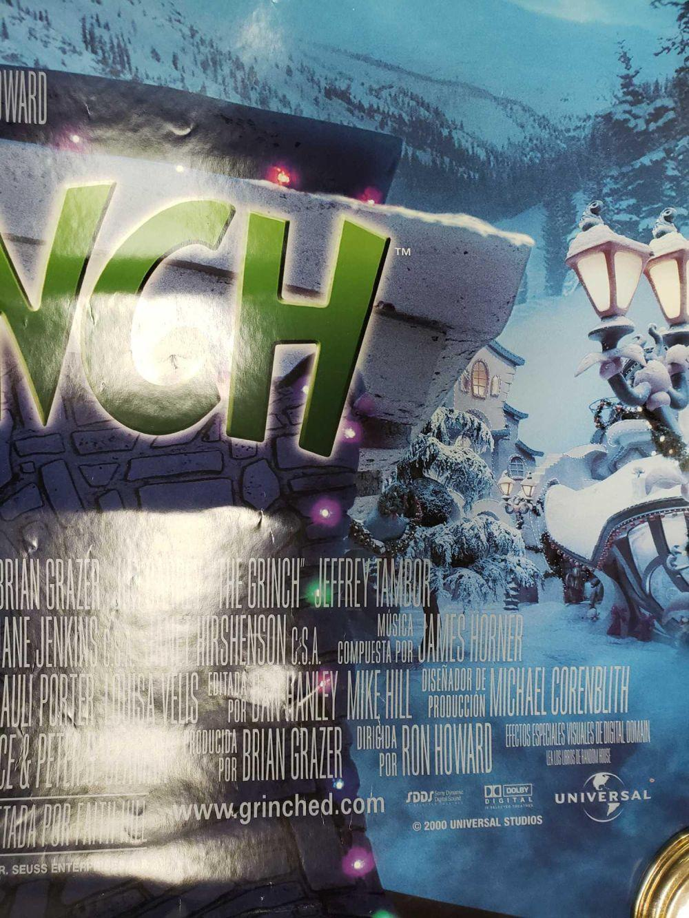 Lot 607: Spanish Language The Grinch Poster