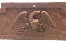 Lot 628: Antique Federal Cast Iron Windowsill