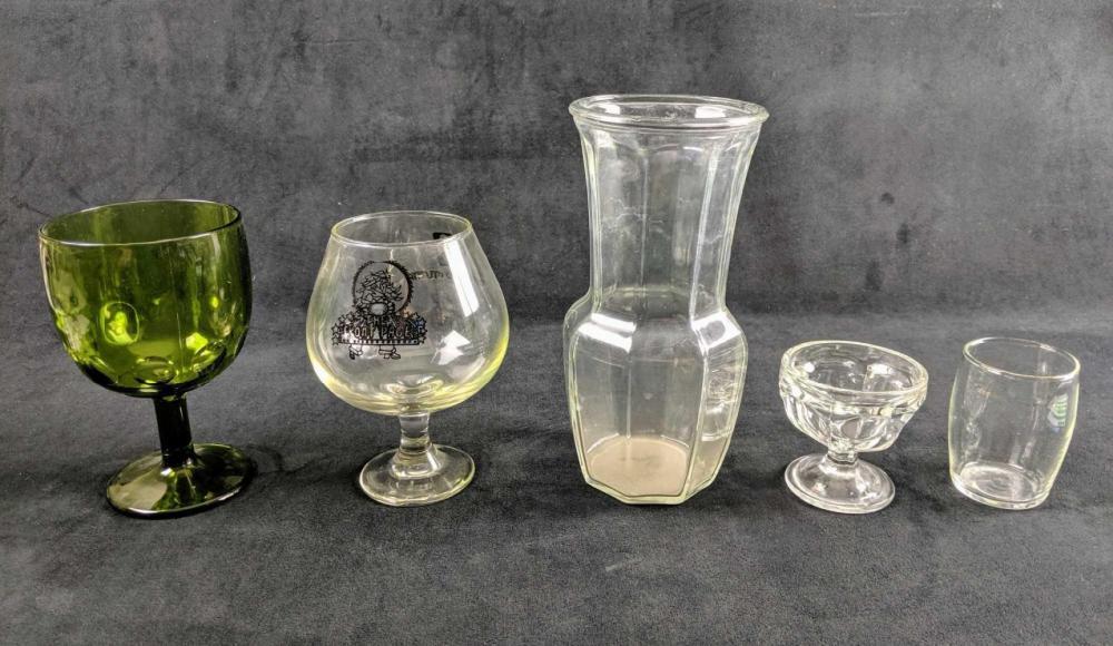 Lot 627: Set Of Miscellaneous Glassware