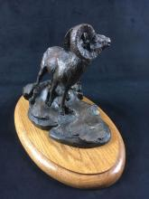 Lot 630: National Wildlife FederationOfficial Issue Sculpture Mountain Sentinelby The Franklin Mint