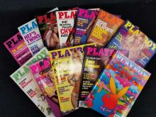Lot 637: Playboy Magazines Complete Year 2000