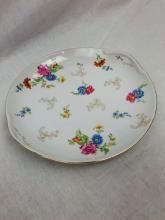 Lot 641: Hand painted China Serving Platter - Chikaramachi