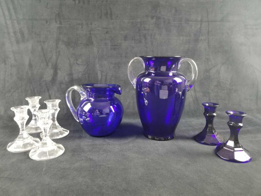 Lot 860: 8 Glass Piece Lot