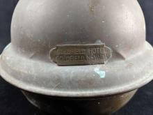 Lot 863: Goldfield Hotel Brass Spittoon