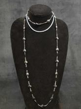 Lot 864: Lot of 2 Iridescent Necklaces