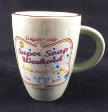 Lot 1004: Walt Disney World Memorabilia Mug ABC Super Soap Weekend 10th Anniversary 2005