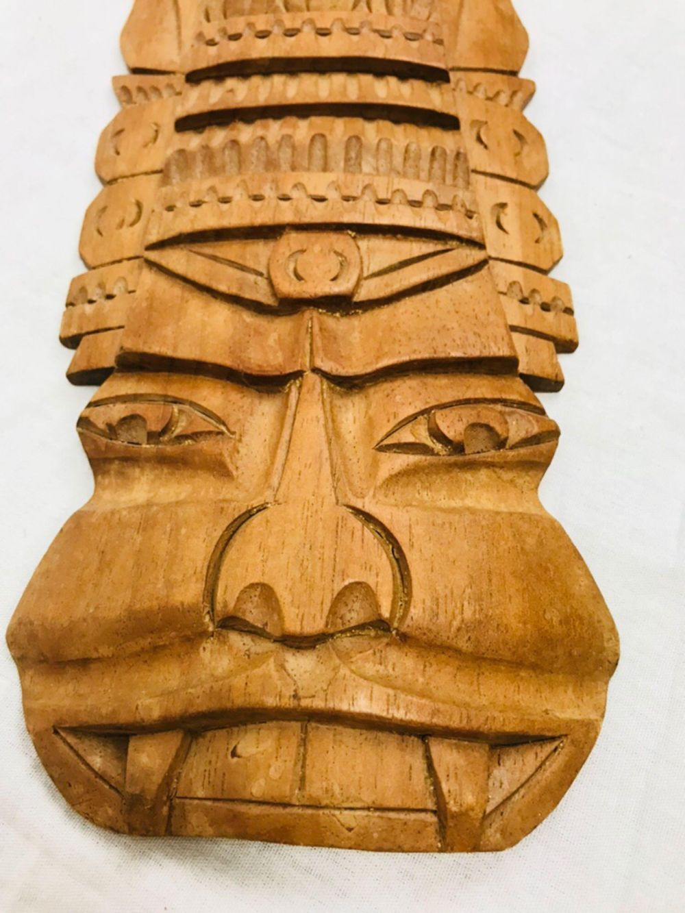 Lot 1024: Hand Carved Tiki God Polynesian Art