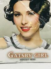 Lot 1076: NOS - Halloween Wig - Gatsby Girl - Adult Size