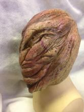 Lot 1077: NOS-Latex Halloween Mask- Faceless 2 w/moving jaw.