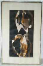 Lot 1082: Framed Painting, Signed Susan Biglin 1962