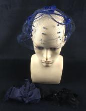 Lot 891: Set of 3 Vintage Hair Accessories