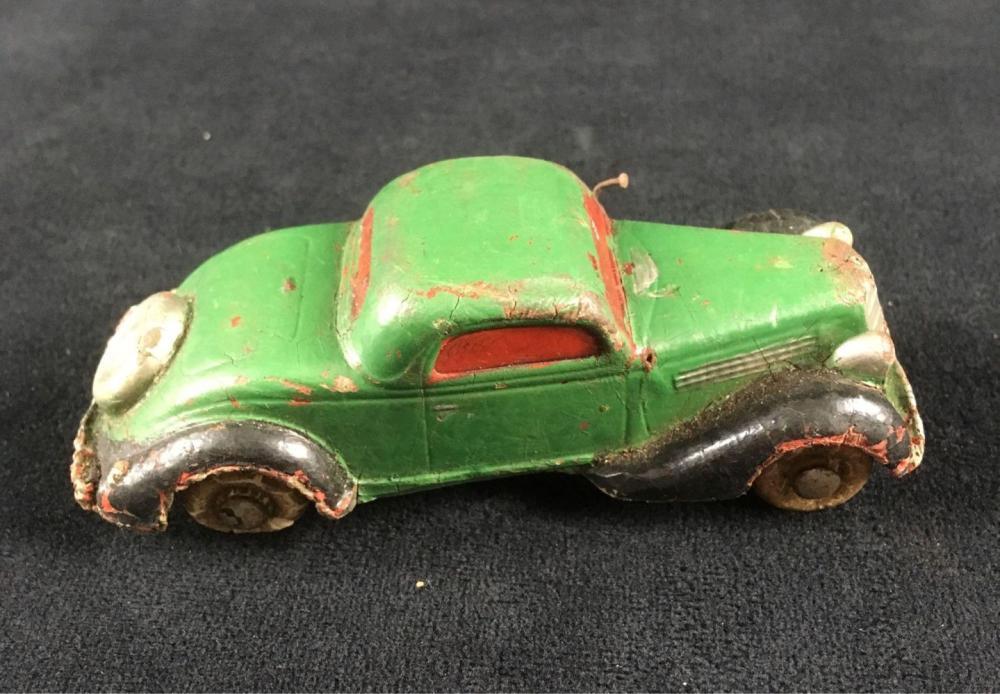 Lot 894: Vintage Rubber Toy Car Circa 1930's