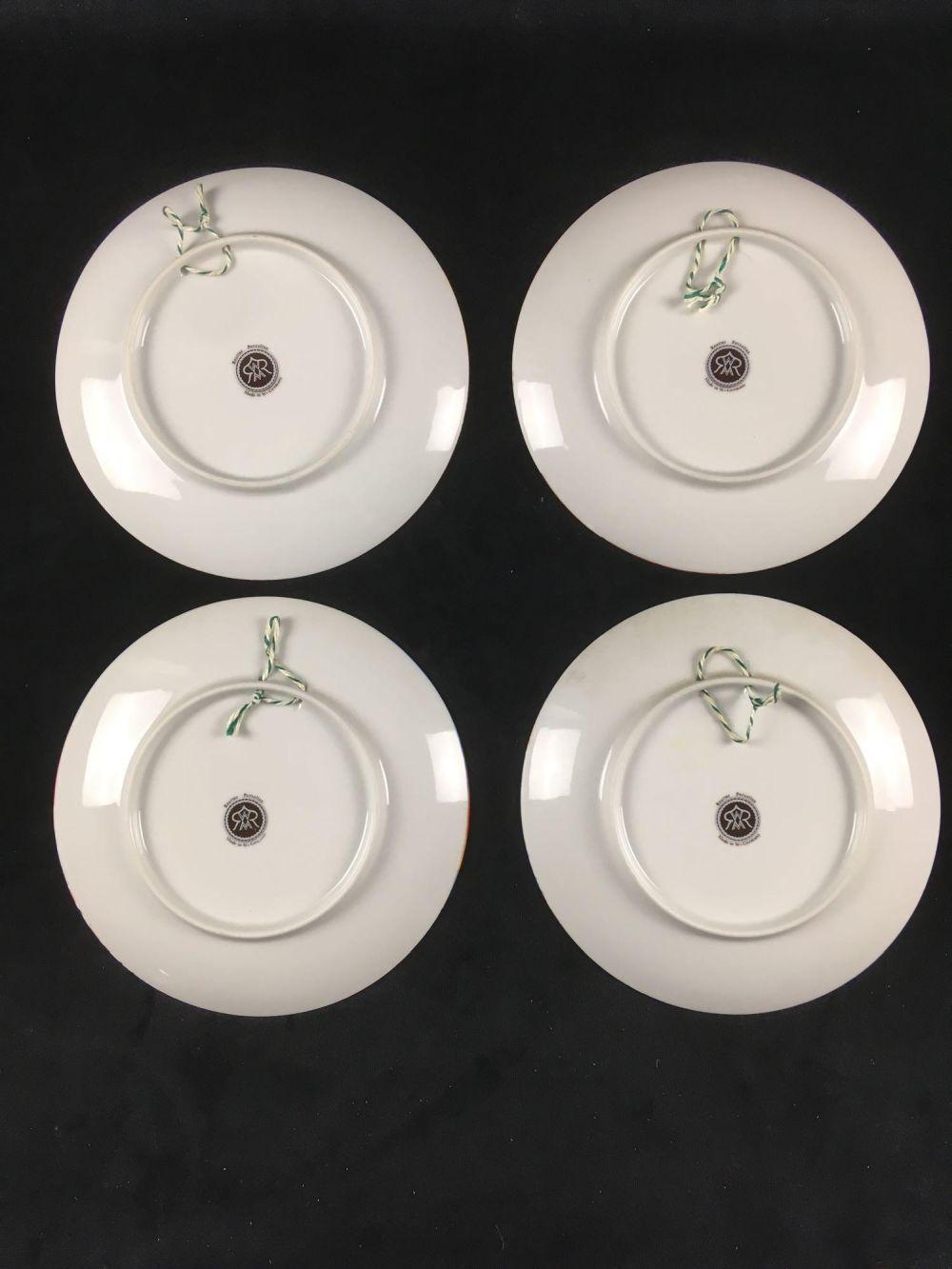 Lot 895: Vintage Barbara Furstenhofer Four Seasons Plates