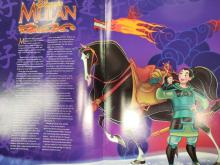Lot 907: Disney Cast Paper Magazines Mulan and The Disney Difference