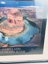 Lot 913: Gary Ladd Print Horseshoe Bend in Marble Canyon, Colorado River