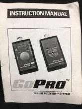 Lot 917: GoPro Failure Detector System